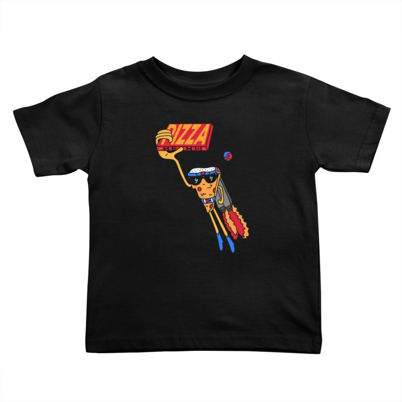 Pizza Hero Kids Toddler T-Shirt by darruda's Artist Shop