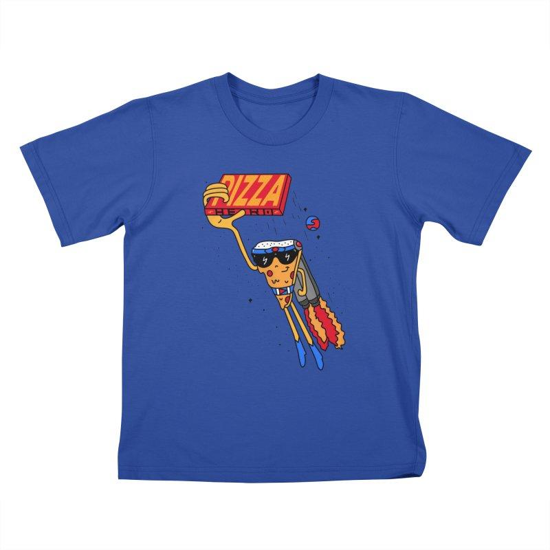 Pizza Hero Kids T-Shirt by darruda's Artist Shop