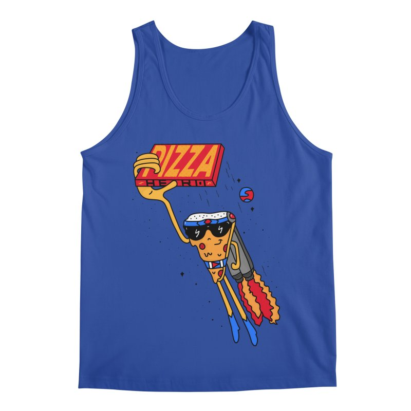 Pizza Hero Men's Tank by darruda's Artist Shop