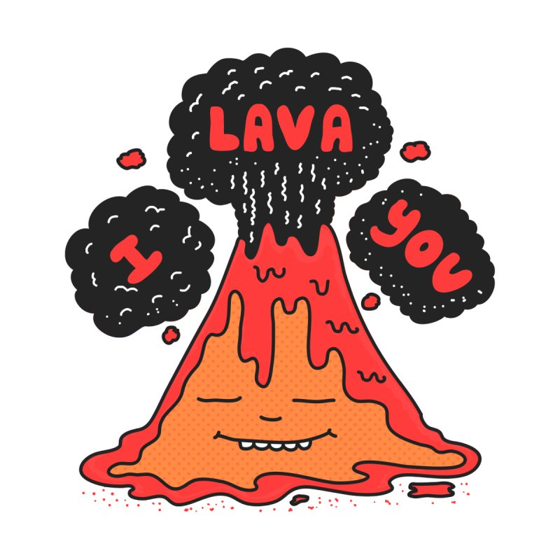 I Lava You Women's T-Shirt by darruda's Artist Shop