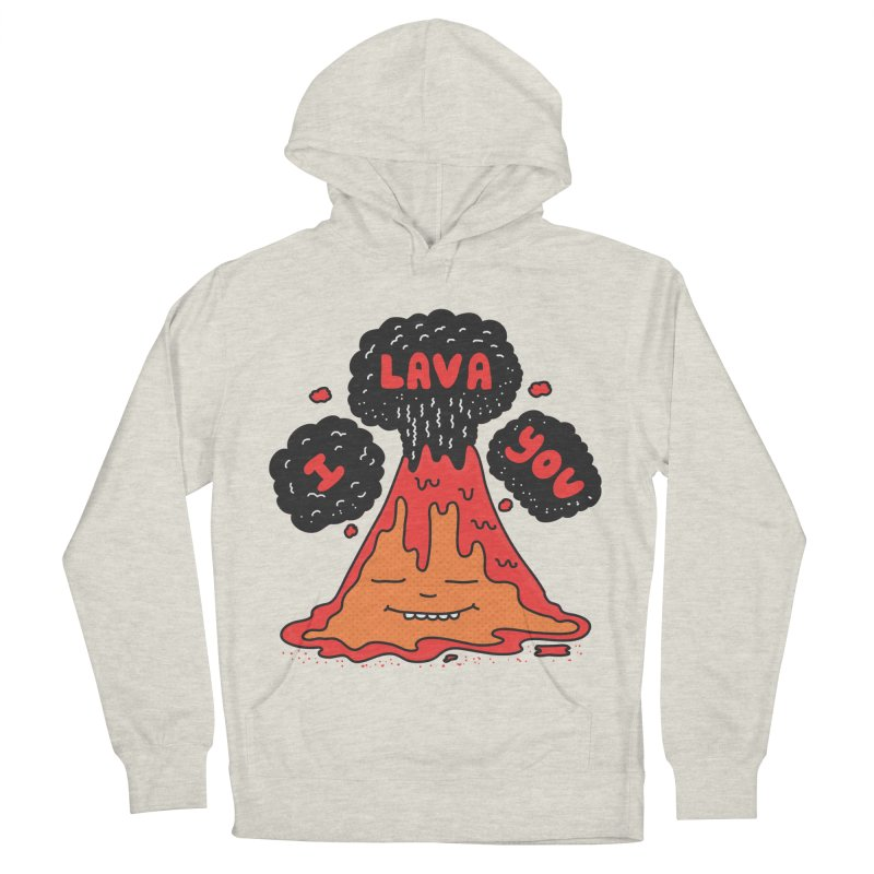 I Lava You Men's French Terry Pullover Hoody by darruda's Artist Shop