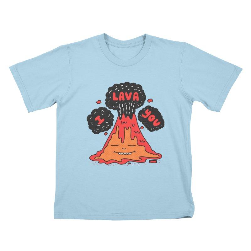 I Lava You Kids T-Shirt by darruda's Artist Shop