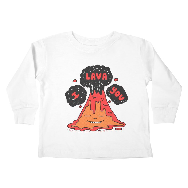 I Lava You Kids Toddler Longsleeve T-Shirt by darruda's Artist Shop