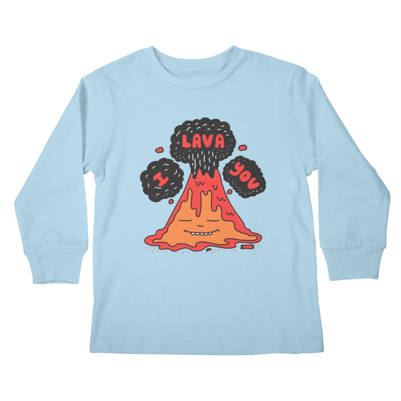 I Lava You Kids Longsleeve T-Shirt by darruda's Artist Shop