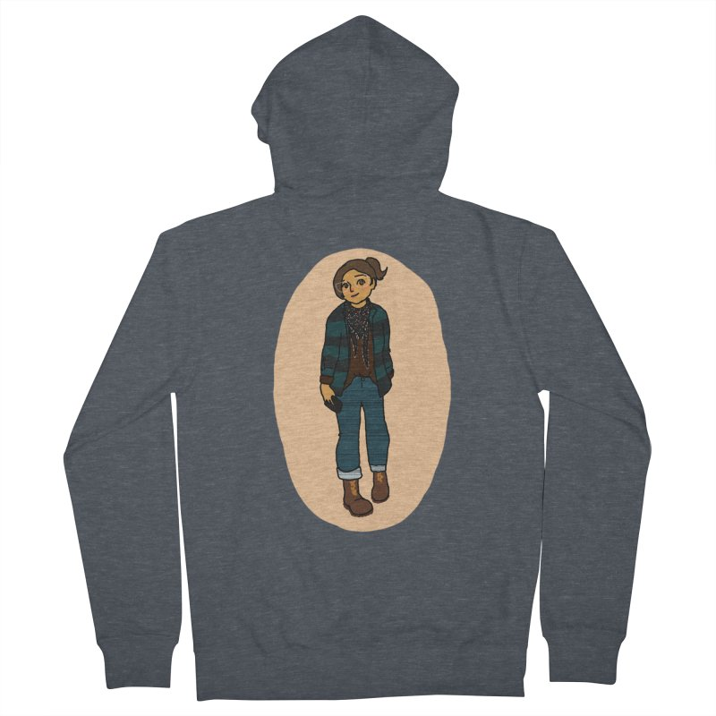 Oufit of the Day Women's Zip-Up Hoody by dasiavou's Artist Shop