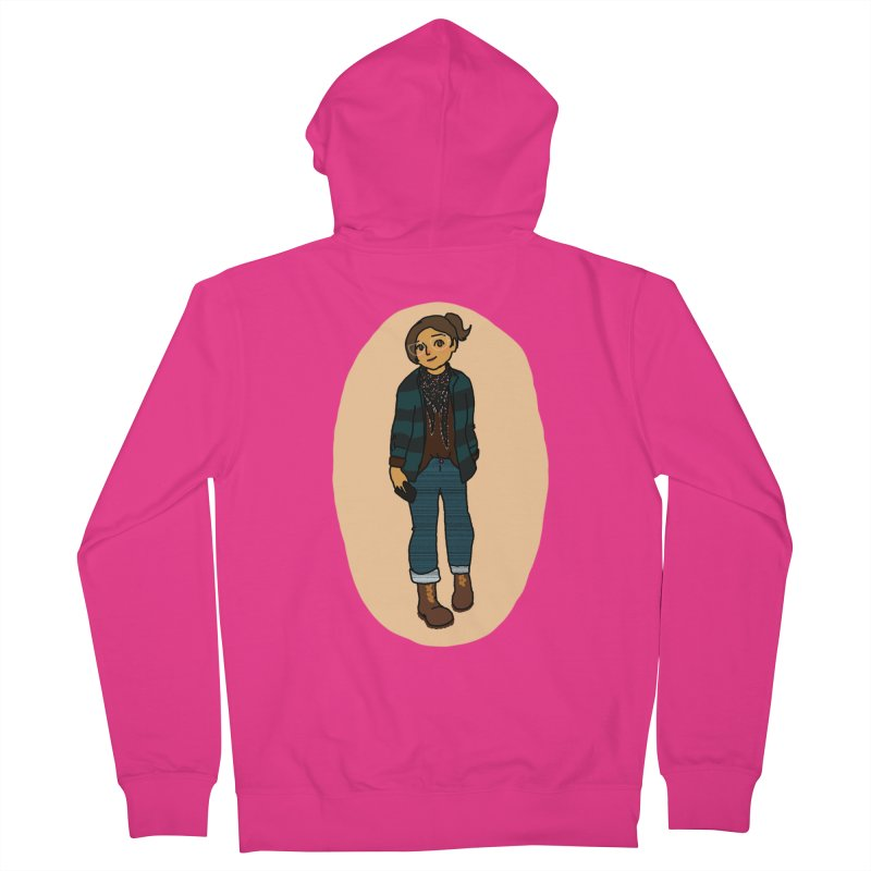Oufit of the Day Men's Zip-Up Hoody by dasiavou's Artist Shop