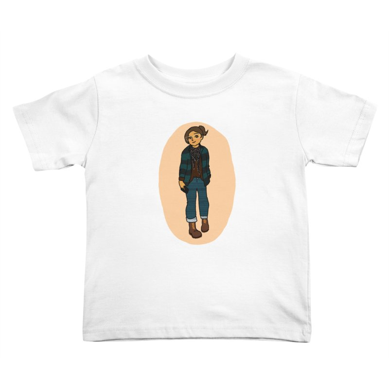 Oufit of the Day Kids Toddler T-Shirt by dasiavou's Artist Shop