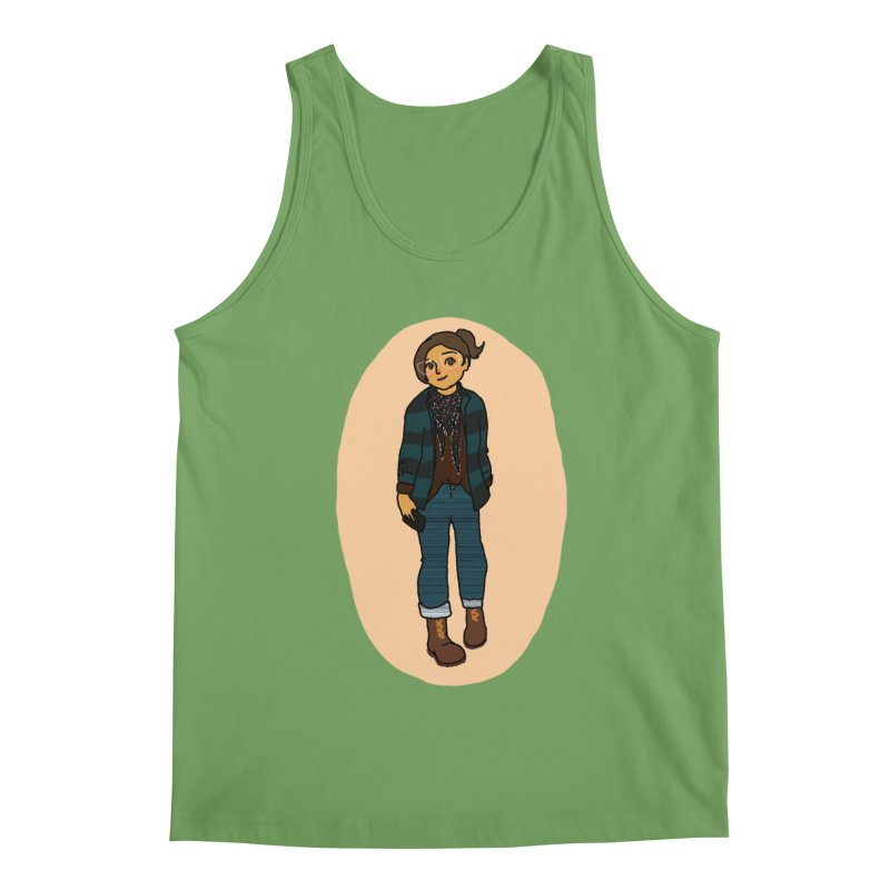 Oufit of the Day Men's Tank by dasiavou's Artist Shop
