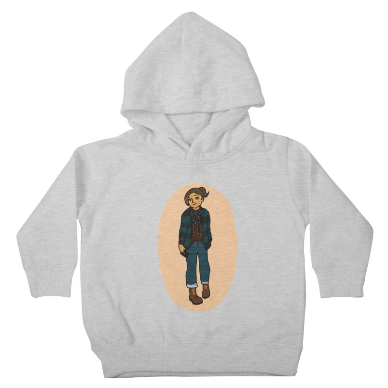 Oufit of the Day Kids Toddler Pullover Hoody by dasiavou's Artist Shop