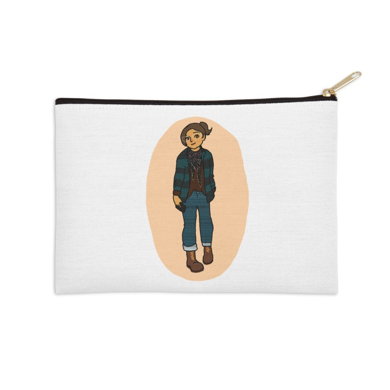 Oufit of the Day Accessories Zip Pouch by dasiavou's Artist Shop