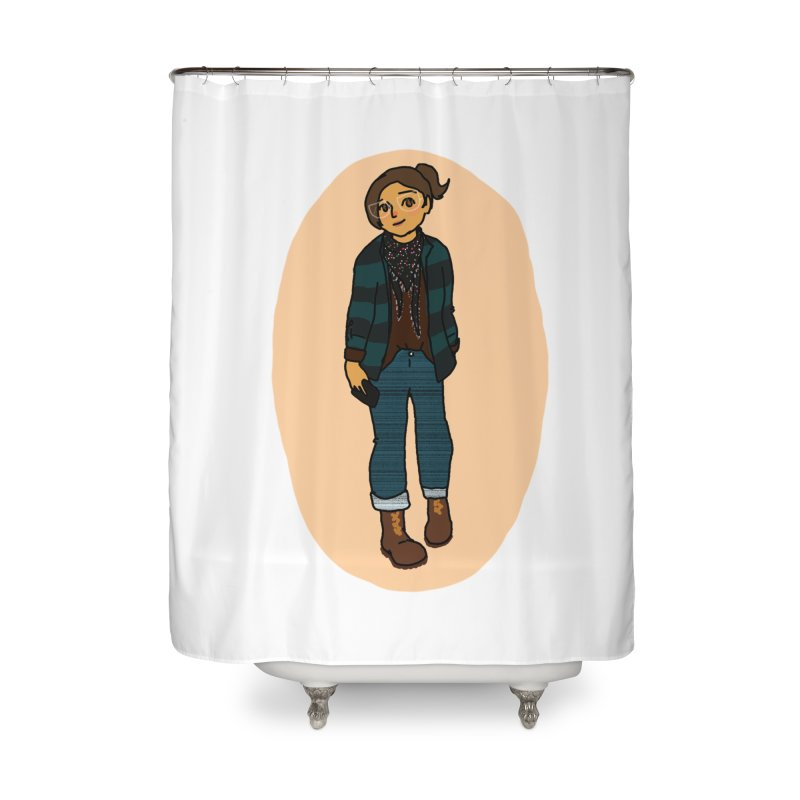 Oufit of the Day Home Shower Curtain by dasiavou's Artist Shop