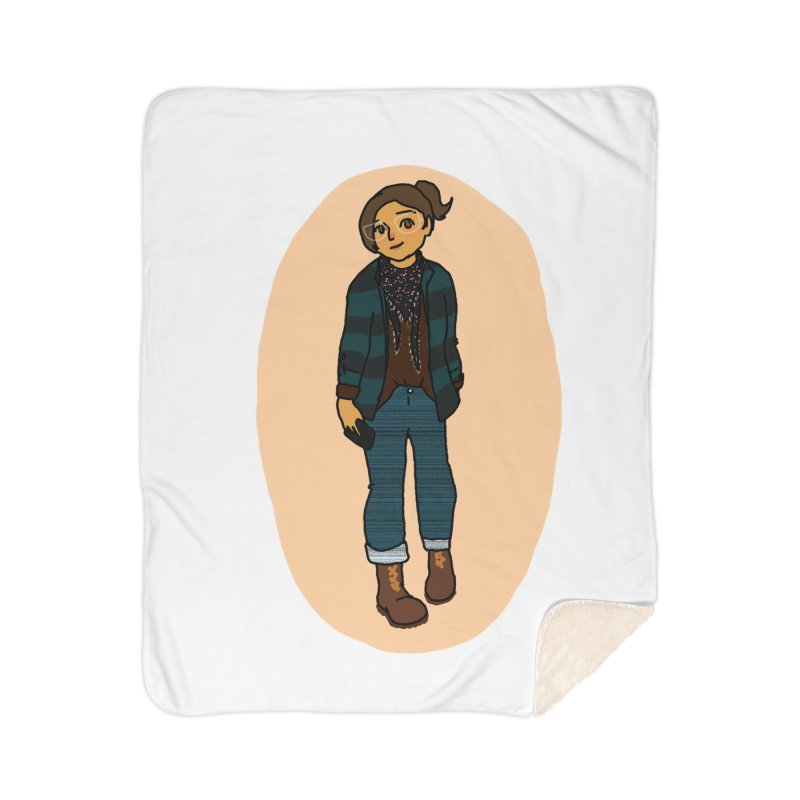 Oufit of the Day Home Blanket by dasiavou's Artist Shop