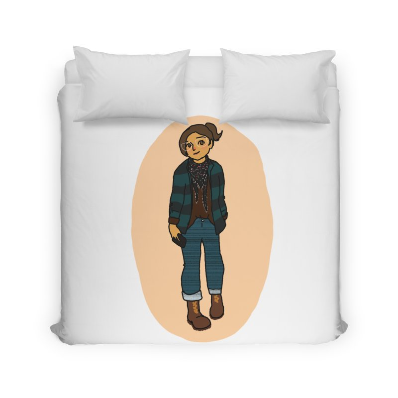 Oufit of the Day Home Duvet by dasiavou's Artist Shop