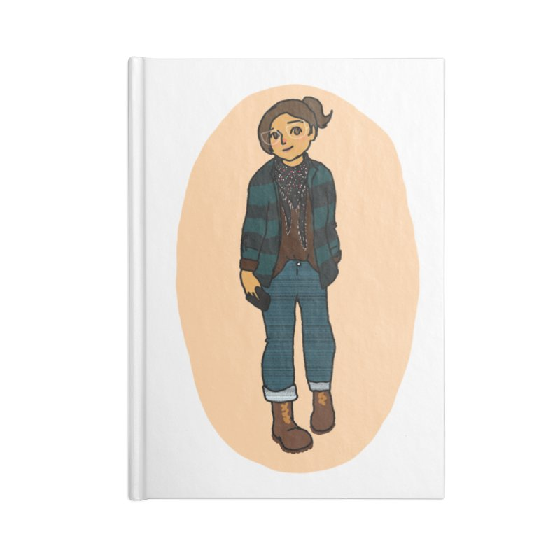 Oufit of the Day Accessories Notebook by dasiavou's Artist Shop