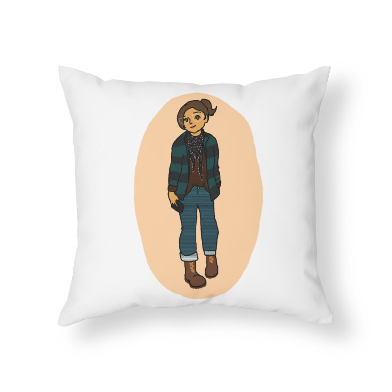 Oufit of the Day Home Throw Pillow by dasiavou's Artist Shop