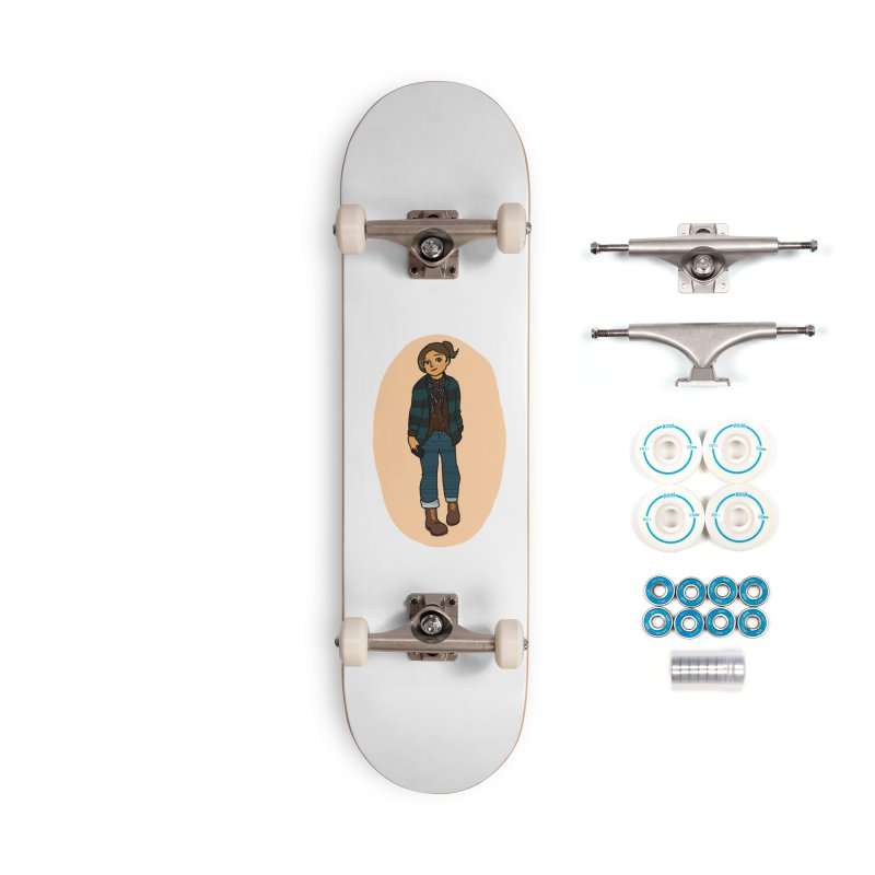 Oufit of the Day Accessories Skateboard by dasiavou's Artist Shop