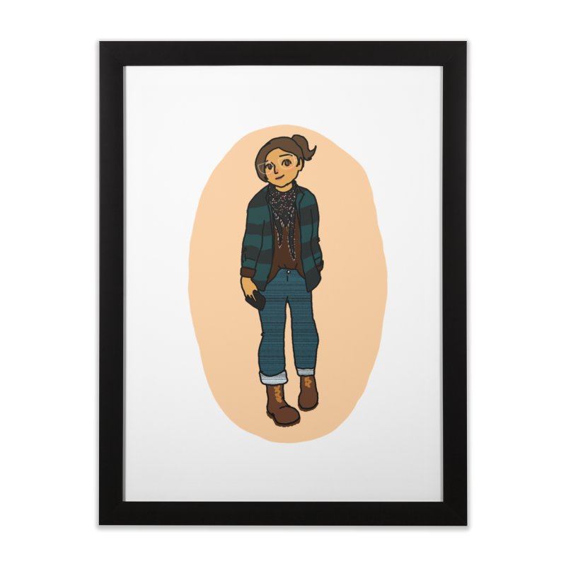 Oufit of the Day Home Framed Fine Art Print by dasiavou's Artist Shop