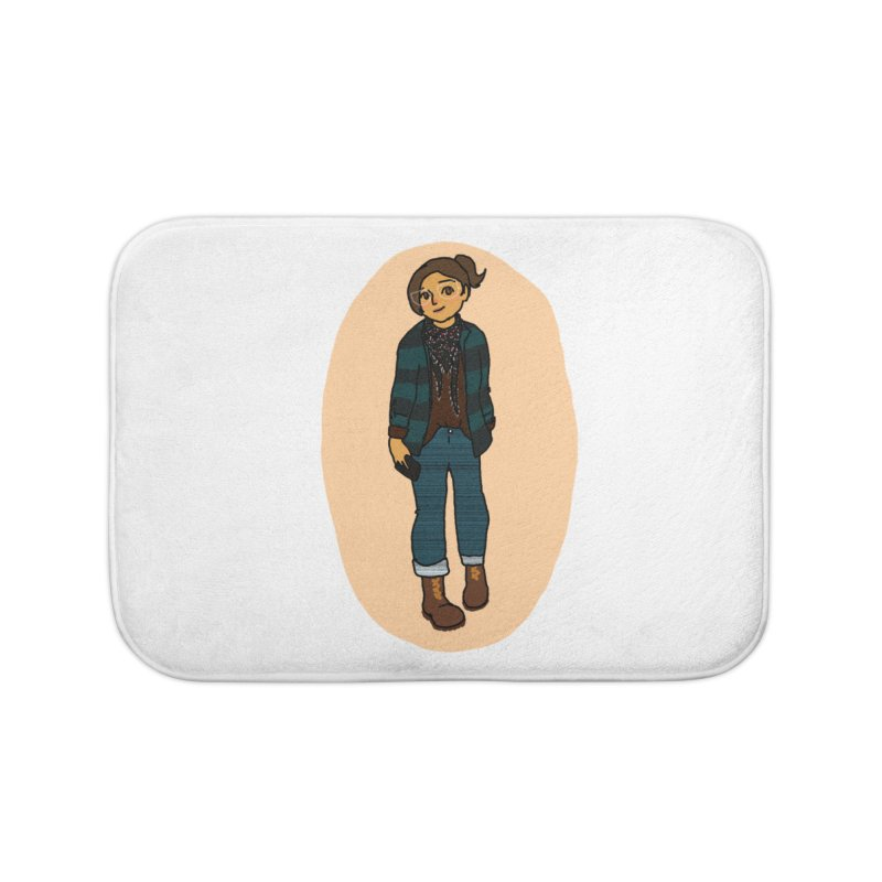 Oufit of the Day Home Bath Mat by dasiavou's Artist Shop