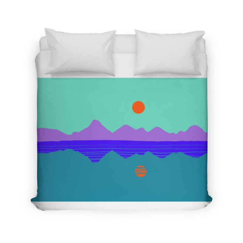 California Summer Sunset Home Duvet by dasiavou's Artist Shop