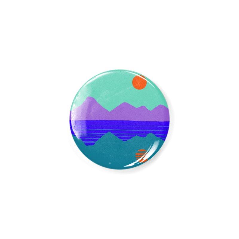 California Summer Sunset Accessories Button by dasiavou's Artist Shop