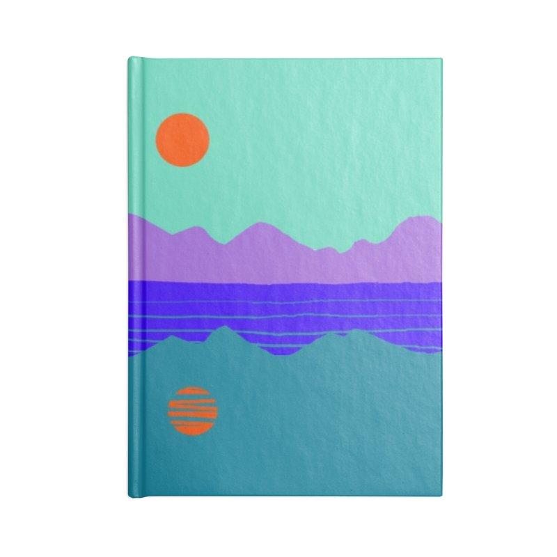 California Summer Sunset Accessories Notebook by dasiavou's Artist Shop