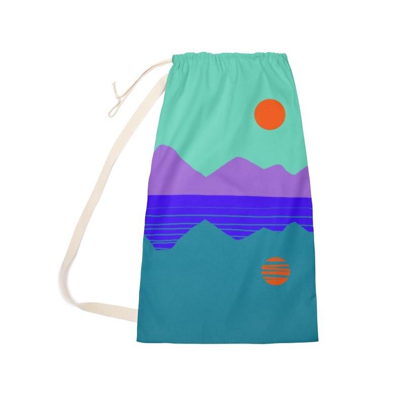 California Summer Sunset Accessories Bag by dasiavou's Artist Shop
