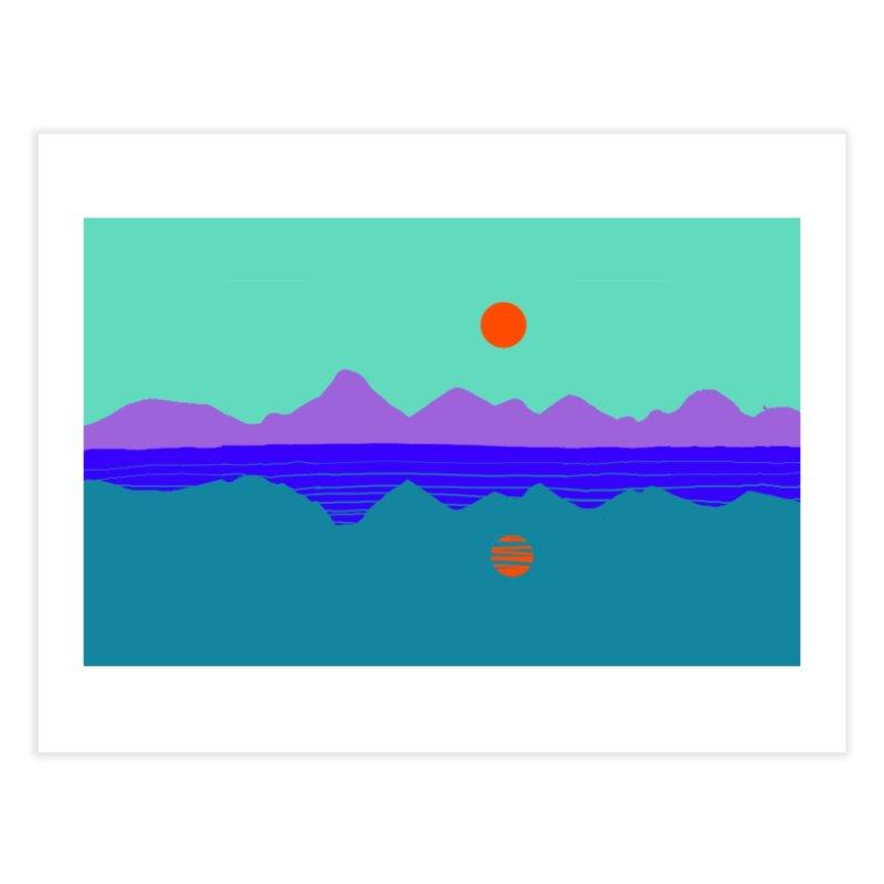 California Summer Sunset Home Fine Art Print by dasiavou's Artist Shop