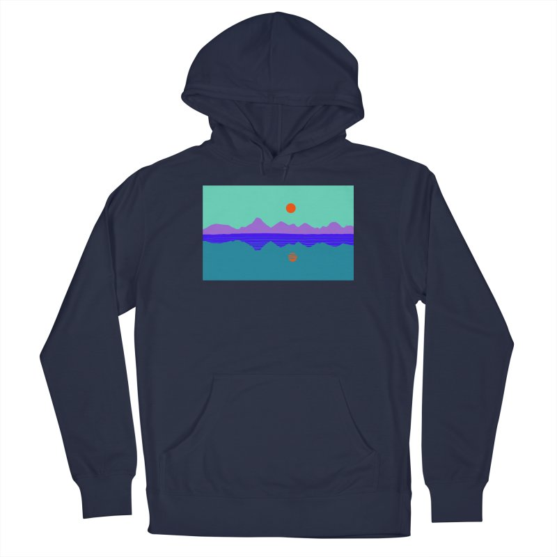 California Summer Sunset Men's Pullover Hoody by dasiavou's Artist Shop