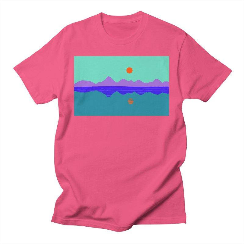 California Summer Sunset Women's T-Shirt by dasiavou's Artist Shop