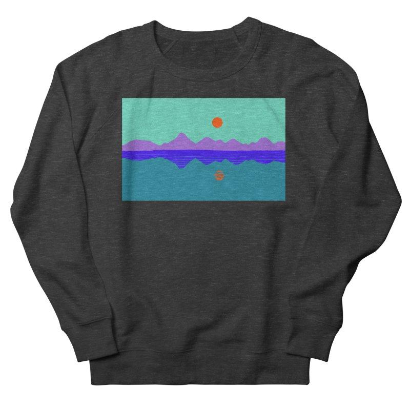 California Summer Sunset Men's Sweatshirt by dasiavou's Artist Shop
