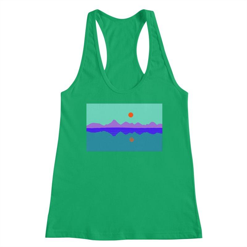 California Summer Sunset Women's Tank by dasiavou's Artist Shop