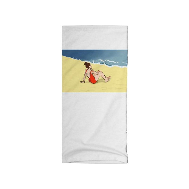 Beach Nostalgia Accessories Neck Gaiter by dasiavou's Artist Shop