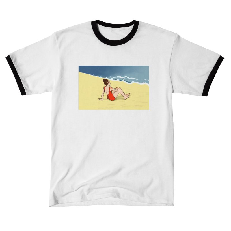 Beach Nostalgia Women's T-Shirt by dasiavou's Artist Shop