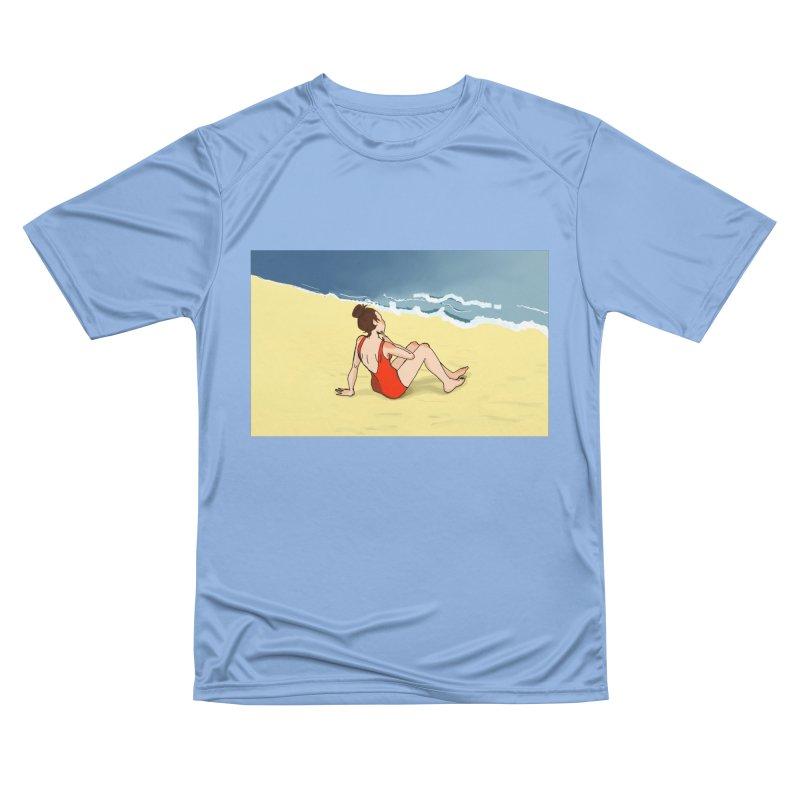Beach Nostalgia Women's T-Shirt by dasiavou's Artist Shop