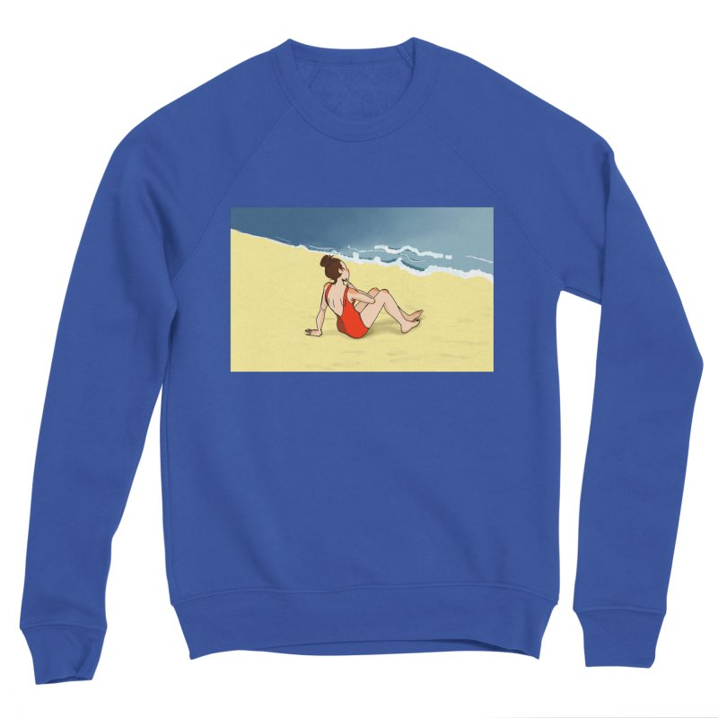 Beach Nostalgia Women's Sweatshirt by dasiavou's Artist Shop