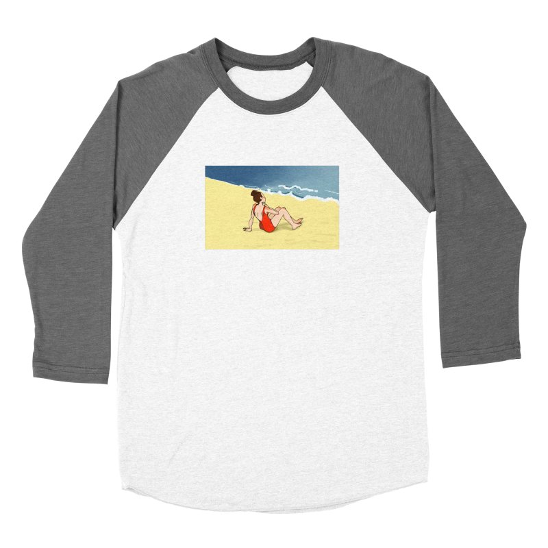 Beach Nostalgia Women's Longsleeve T-Shirt by dasiavou's Artist Shop