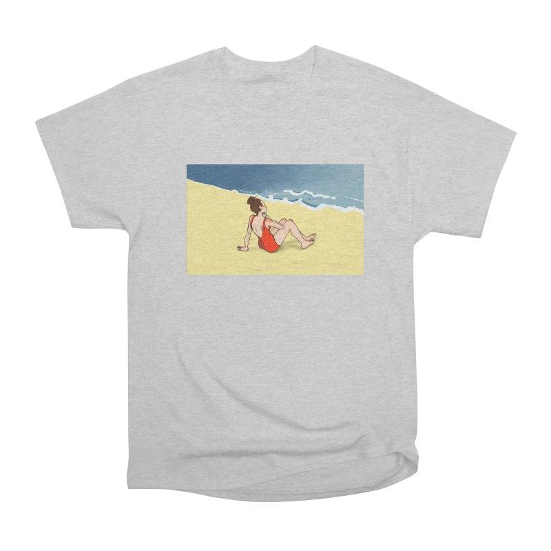 Beach Nostalgia Men's T-Shirt by dasiavou's Artist Shop