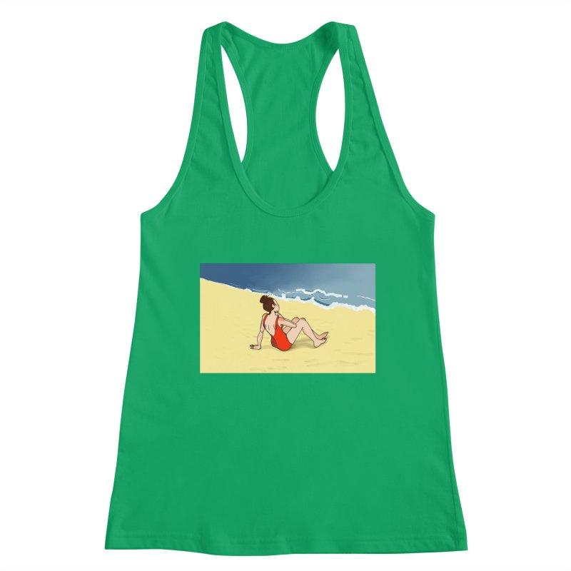 Beach Nostalgia Women's Tank by dasiavou's Artist Shop