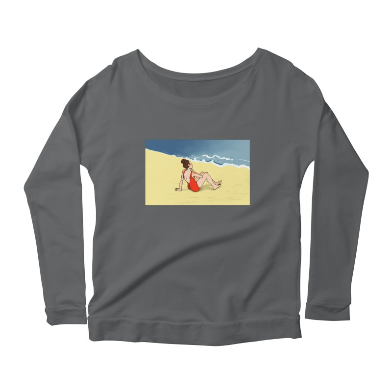 Beach Nostalgia Women's Longsleeve T-Shirt by dasiavou's Artist Shop