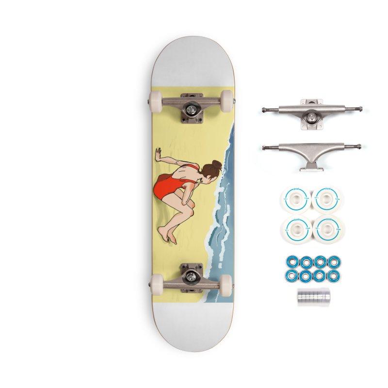 Beach Nostalgia Accessories Skateboard by dasiavou's Artist Shop