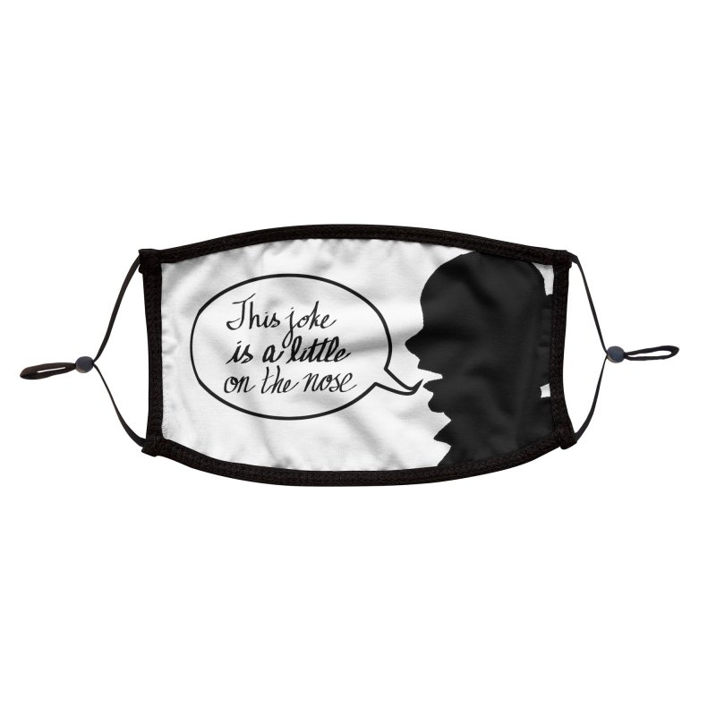 On the Nose Accessories Face Mask by dasiavou's Artist Shop