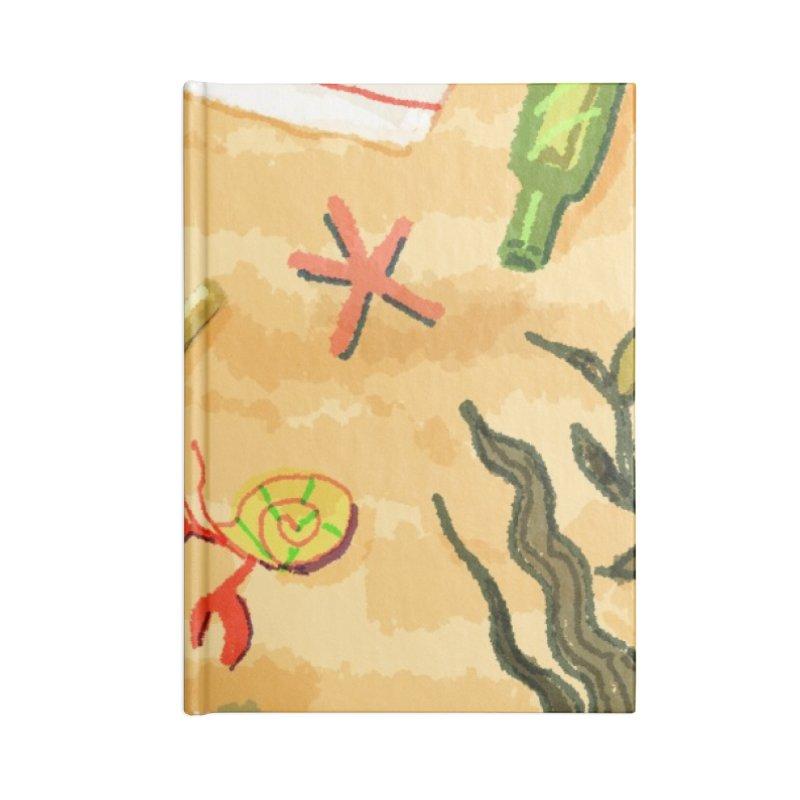 Sand n' Surf Accessories Notebook by dasiavou's Artist Shop
