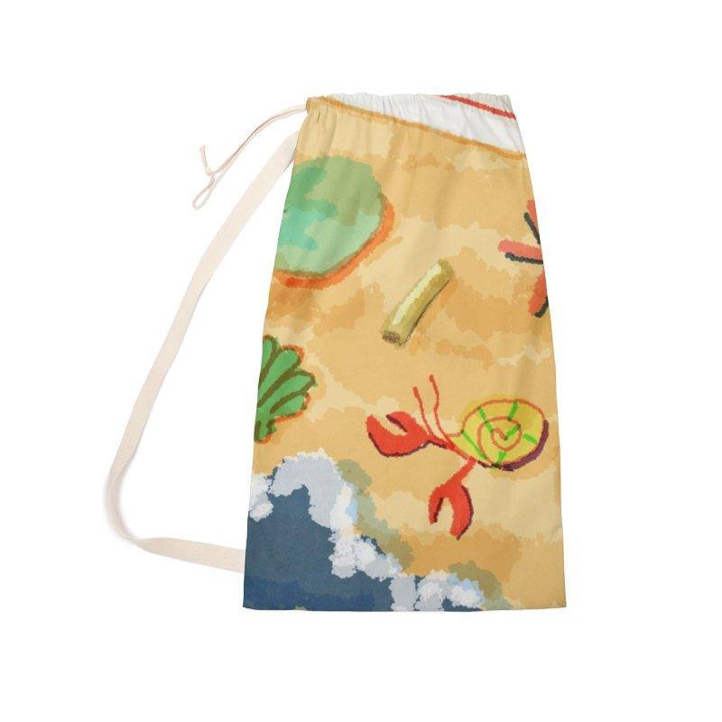 Sand n' Surf Accessories Bag by dasiavou's Artist Shop