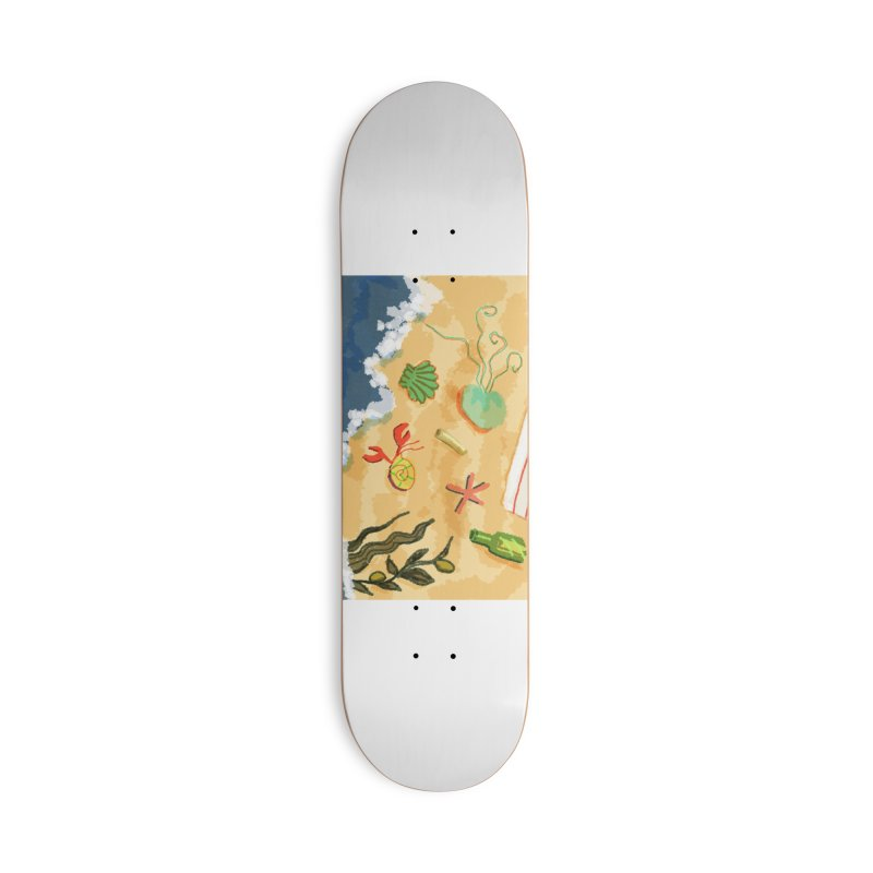 Sand n' Surf Accessories Skateboard by dasiavou's Artist Shop