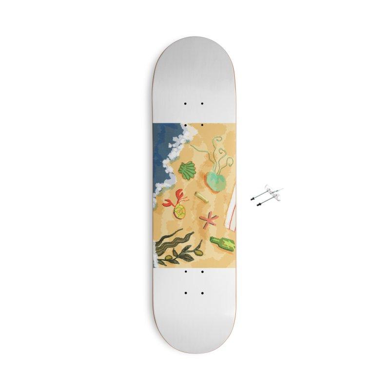 Sand n' Surf Accessories Skateboard by dasiavou's Artist Shop
