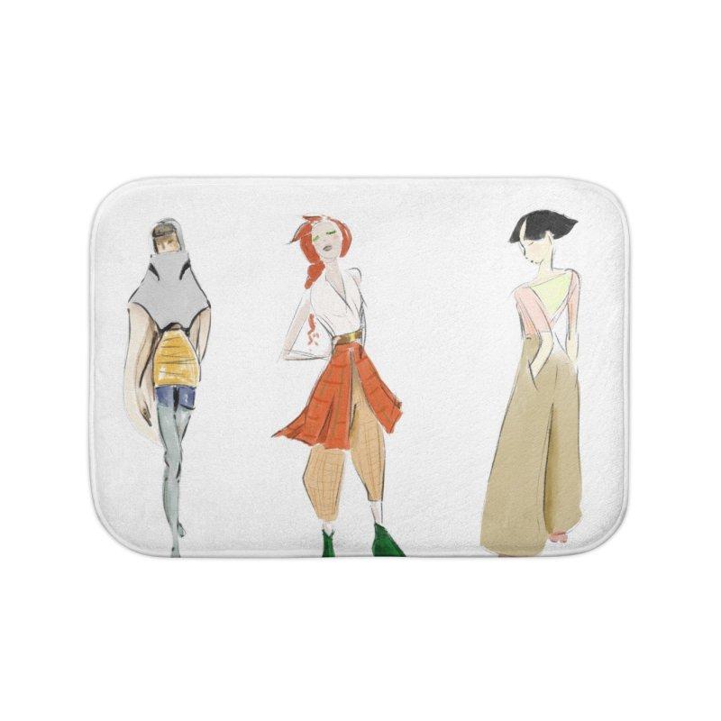 But Make It Fashion Home Bath Mat by dasiavou's Artist Shop