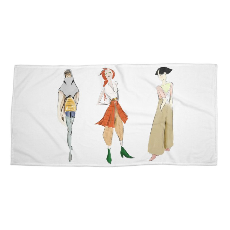 But Make It Fashion Accessories Beach Towel by dasiavou's Artist Shop