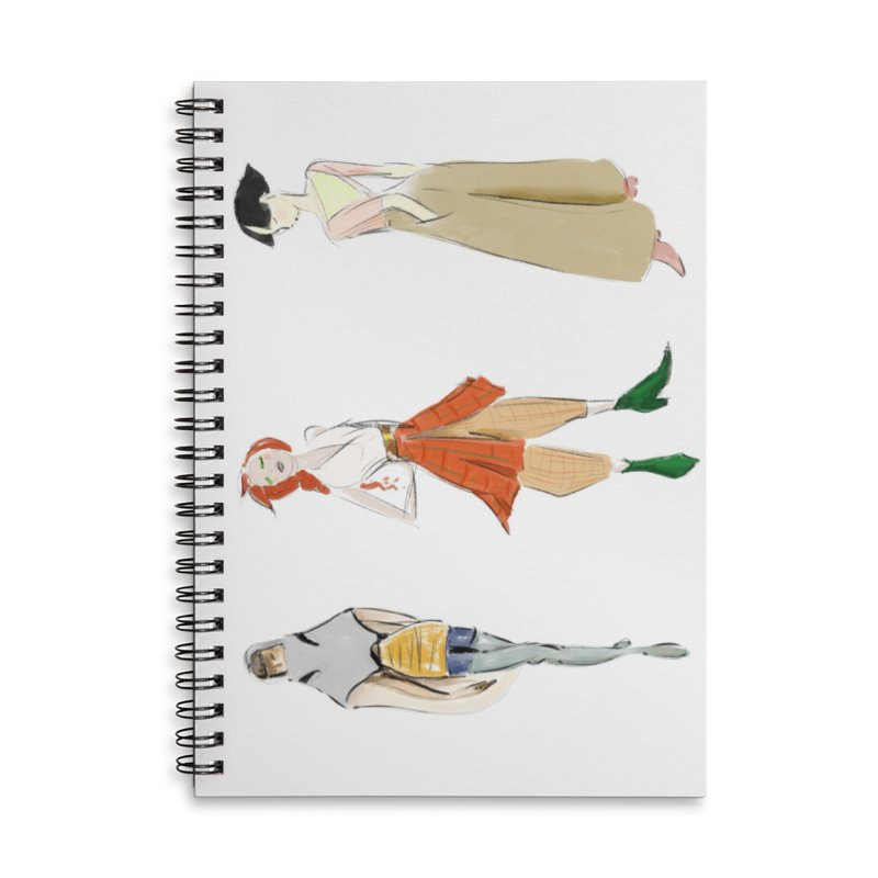 But Make It Fashion Accessories Notebook by dasiavou's Artist Shop