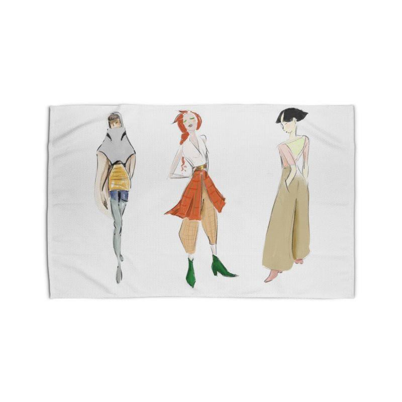 But Make It Fashion Home Rug by dasiavou's Artist Shop