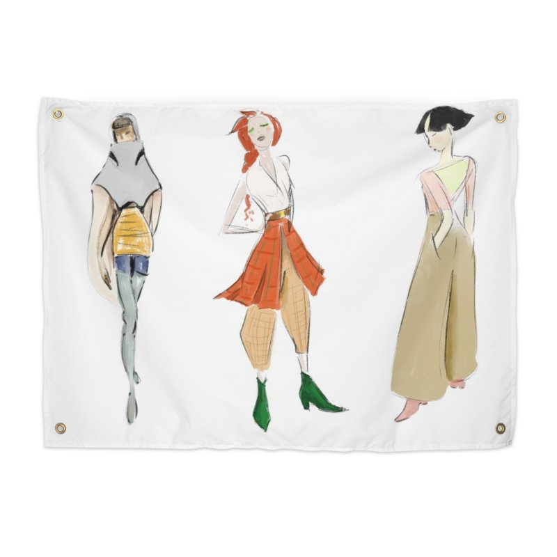But Make It Fashion Home Tapestry by dasiavou's Artist Shop